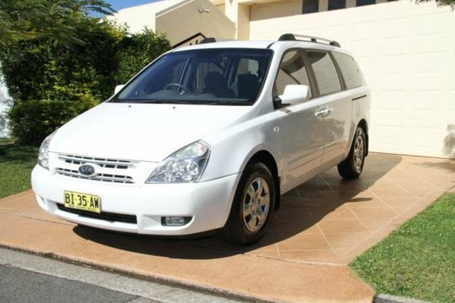 Discounted Used Kia Grand Carnival EXE, Bundall, 2009 Kia Grand Carnival EXE VQ Wagon