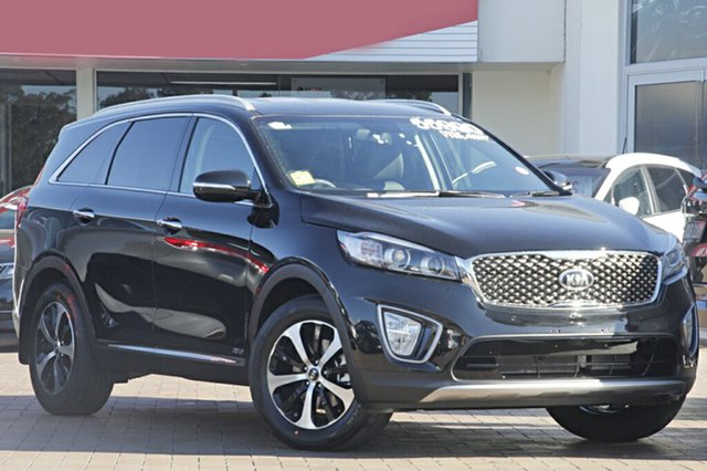 Demonstrator, Demo, Near New Kia Sorento SLi AWD, Warwick Farm, 2017 Kia Sorento SLi AWD SUV