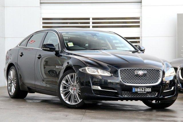 Discounted Demonstrator, Demo, Near New Jaguar XJ Premium LWB Luxury, Gardenvale, 2016 Jaguar XJ Premium LWB Luxury Sedan