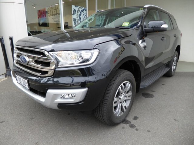 Demonstrator, Demo, Near New Ford Everest Trend, Cheltenham, 2016 Ford Everest Trend Wagon