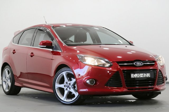 Used Ford Focus Titanium PwrShift, Narellan, 2012 Ford Focus Titanium PwrShift Hatchback