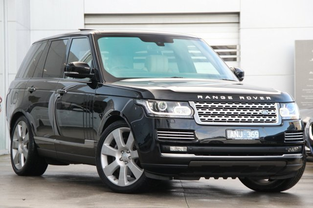 Discounted Used Land Rover Range Rover SDV8 Vogue SE, Gardenvale, 2014 Land Rover Range Rover SDV8 Vogue SE Wagon