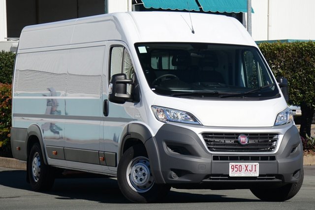 Demonstrator, Demo, Near New Fiat Ducato Mid Roof XLWB Comfort-matic, Acacia Ridge, 2016 Fiat Ducato Mid Roof XLWB Comfort-matic Series 4 Van