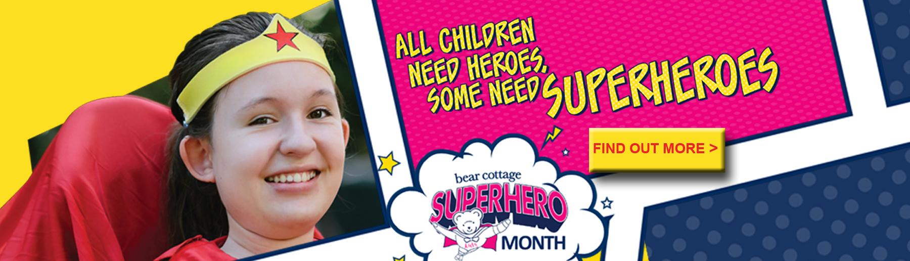 Superhero Month