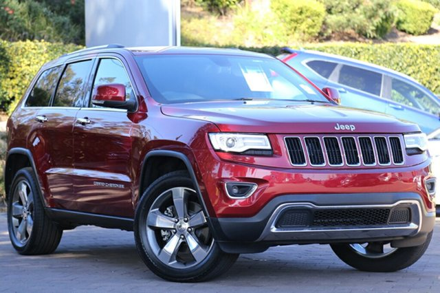 Discounted Demonstrator, Demo, Near New Jeep Grand Cherokee Limited, Southport, 2015 Jeep Grand Cherokee Limited SUV