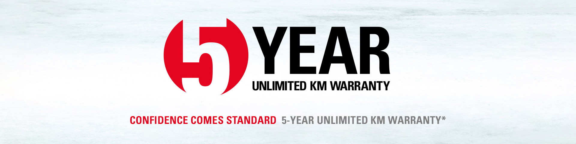 Unlimited KM Warranty