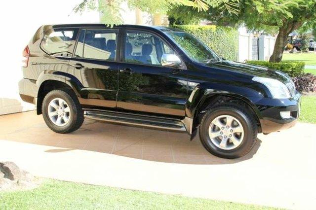 Discounted Used Toyota Landcruiser Prado GXL, Bundall, 2005 Toyota Landcruiser Prado GXL GRJ120R Wagon