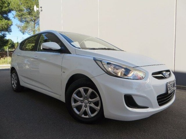 Used Hyundai Accent Active, Reynella, 2013 Hyundai Accent Active Hatchback