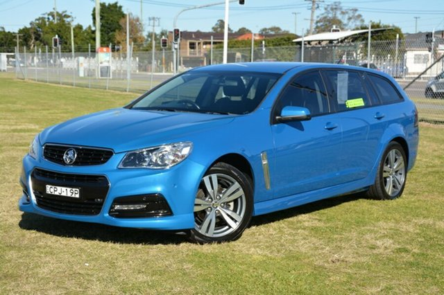Used Holden Commodore VF MY14 SV6 Sportwagon, 2013 Holden Commodore VF MY14 SV6 Sportwagon Blue 6 Speed Sports Automatic Wagon