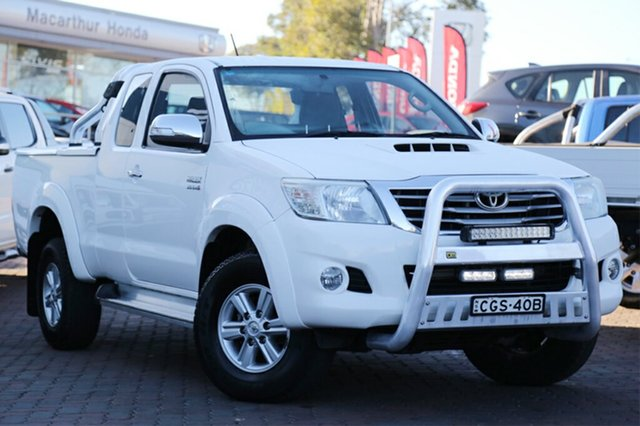 Discounted Used Toyota Hilux SR5 Xtra Cab, Narellan, 2012 Toyota Hilux SR5 Xtra Cab Utility