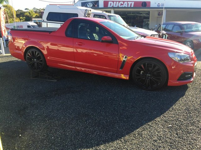 Used Holden Commodore  , 2014 Holden Commodore SV6 Red 5 Speed Auto Active Select Utility