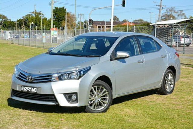 Used Toyota Corolla ZRE172R SX S-CVT, 2014 Toyota Corolla ZRE172R SX S-CVT Silver 7 Speed Constant Variable Sedan