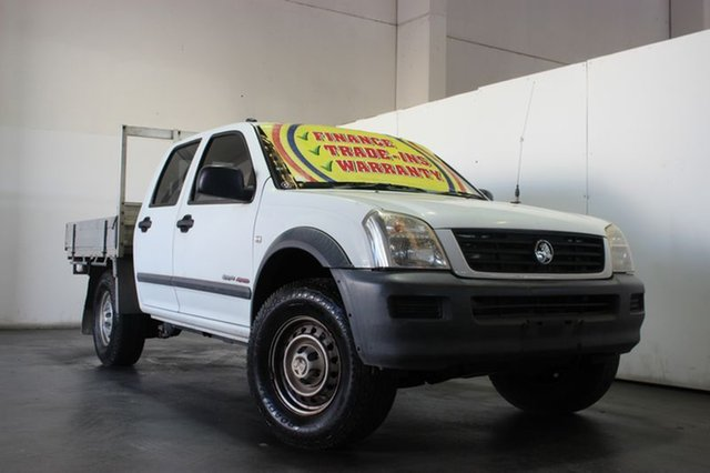 Used Holden Rodeo LX (4x4), Underwood, 2005 Holden Rodeo LX (4x4) Crew Cab P/Up