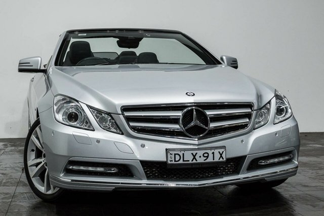 Used Mercedes-Benz E250 BlueEFFICIENCY 7G-Tronic + Elegance, Rozelle, 2012 Mercedes-Benz E250 BlueEFFICIENCY 7G-Tronic + Elegance Cabriolet
