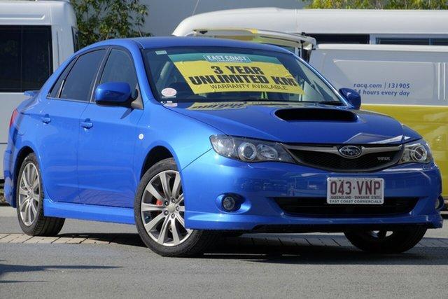Used Subaru Impreza WRX AWD, Robina, 2009 Subaru Impreza WRX AWD G3 MY09 Sedan