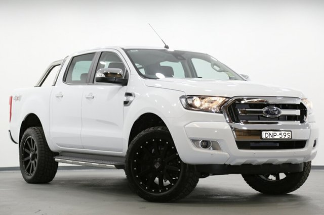 Demonstrator, Demo, Near New Ford Ranger XLT Double Cab, Southport, 2017 Ford Ranger XLT Double Cab Utility