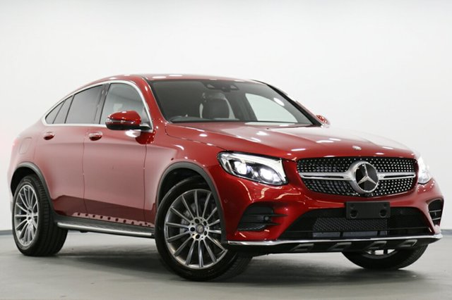 Used Mercedes-Benz GLC250 Coupe 9G-TRONIC 4MATIC, Narellan, 2017 Mercedes-Benz GLC250 Coupe 9G-TRONIC 4MATIC SUV