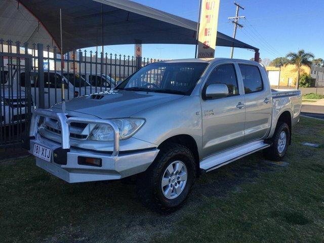 Discounted Used Toyota Hilux SR (4x4), Toowoomba, 2009 Toyota Hilux SR (4x4) Dual Cab Pickup