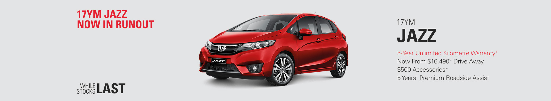 Honda National Offers