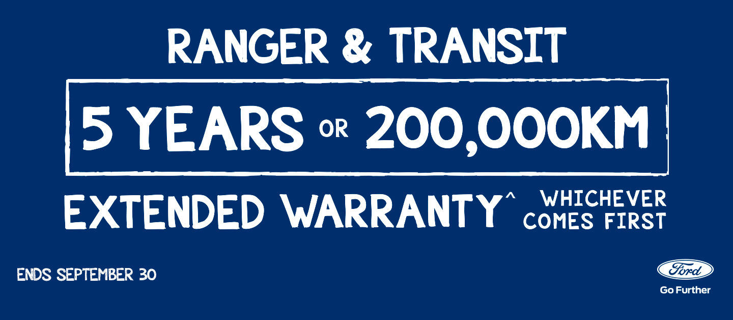 Ranger and Transit Extended Warranty