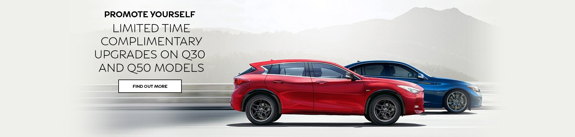 Infiniti - National Offer - $7,000 Complimentary Model Upgrade on Q30 or $8,000