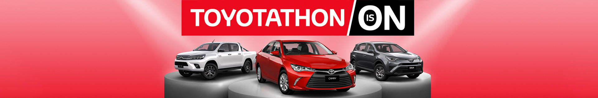Toyota - National Offer - Toyotathon Is On - Toyota Upgrade Advantage - Great Va