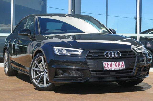 Demonstrator, Demo, Near New Audi A4 Sport S tronic quattro, Toowoomba, 2017 Audi A4 Sport S tronic quattro Sedan