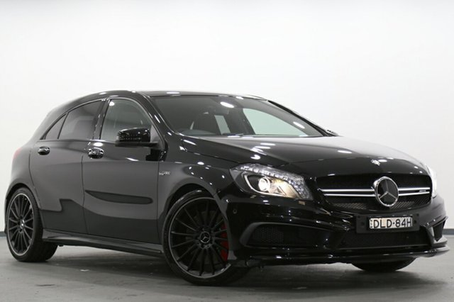 Used Mercedes-Benz A45 AMG SPEEDSHIFT DCT 4MATIC, Narellan, 2015 Mercedes-Benz A45 AMG SPEEDSHIFT DCT 4MATIC Hatchback