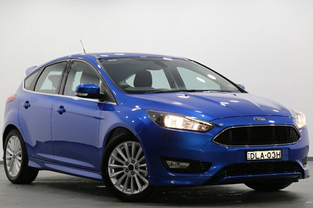 Used Ford Focus Sport, Narellan, 2016 Ford Focus Sport Hatchback