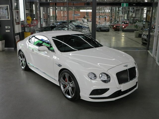 Used Bentley Continental GT Speed, North Melbourne, 2016 Bentley Continental GT Speed Coupe