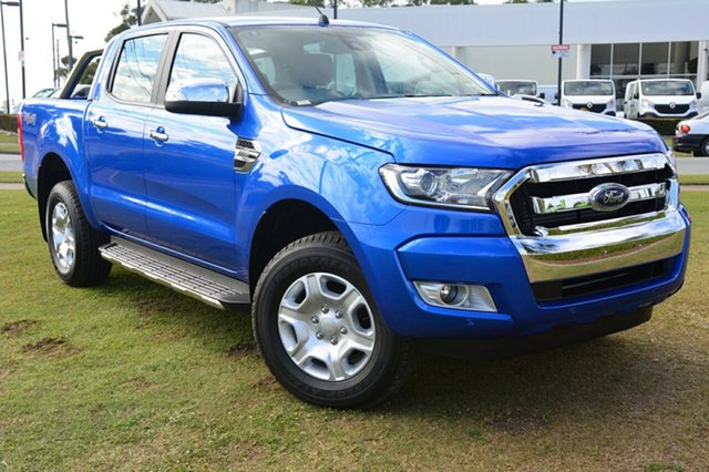 Discounted Demonstrator, Demo, Near New Ford Ranger XLT Double Cab, Southport, 2017 Ford Ranger XLT Double Cab Utility
