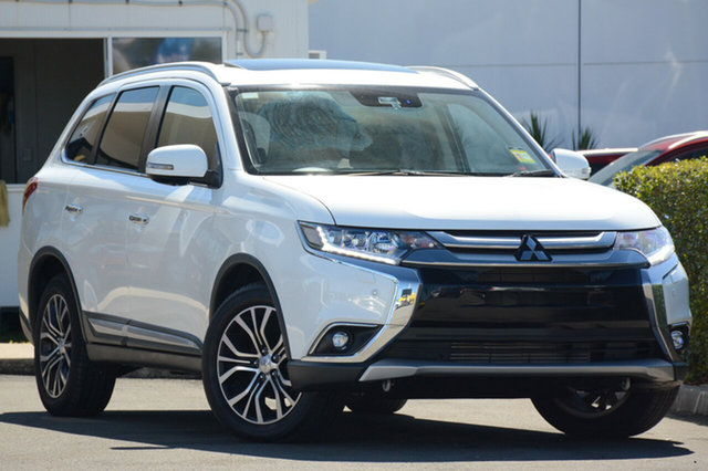 Used Mitsubishi Outlander Exceed 4WD, Bowen Hills, 2016 Mitsubishi Outlander Exceed 4WD Wagon