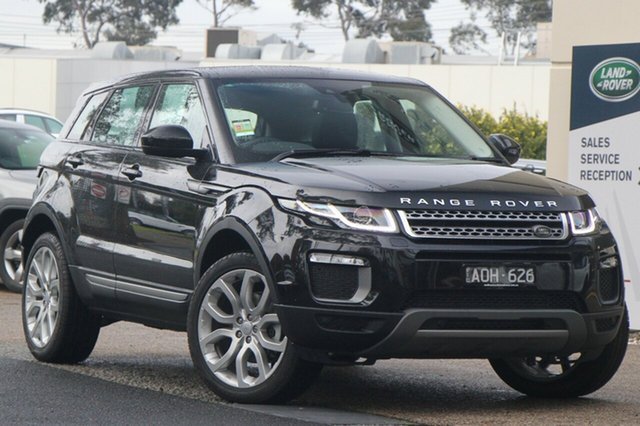Demonstrator, Demo, Near New Land Rover Range Rover Evoque Si4 SE, Port Melbourne, 2017 Land Rover Range Rover Evoque Si4 SE Wagon