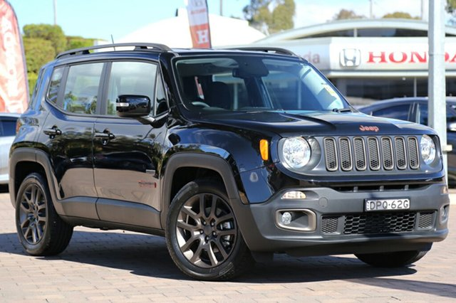 Discounted Demonstrator, Demo, Near New Jeep Renegade 75th Anniversary DDCT, Southport, 2016 Jeep Renegade 75th Anniversary DDCT SUV