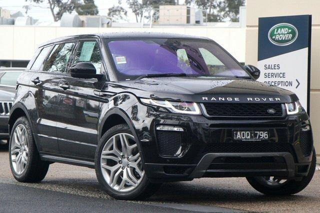 Demonstrator, Demo, Near New Land Rover Range Rover Evoque TD4 180 HSE Dynamic, Port Melbourne, 2017 Land Rover Range Rover Evoque TD4 180 HSE Dynamic Wagon