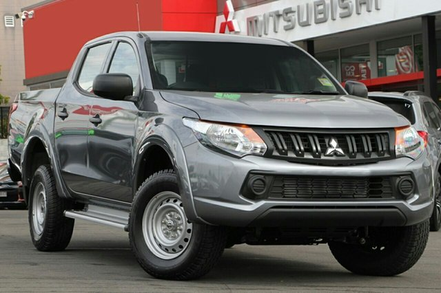Demonstrator, Demo, Near New Mitsubishi Triton GLX Double Cab, Beaudesert, 2018 Mitsubishi Triton GLX Double Cab Utility