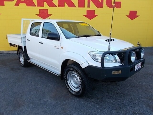 Used Toyota Hilux SR Double Cab, Winnellie, 2013 Toyota Hilux SR Double Cab Cab Chassis