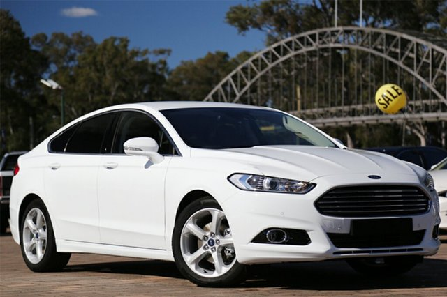 Discounted Demonstrator, Demo, Near New Ford Mondeo Trend SelectShift, Warwick Farm, 2017 Ford Mondeo Trend SelectShift Hatchback