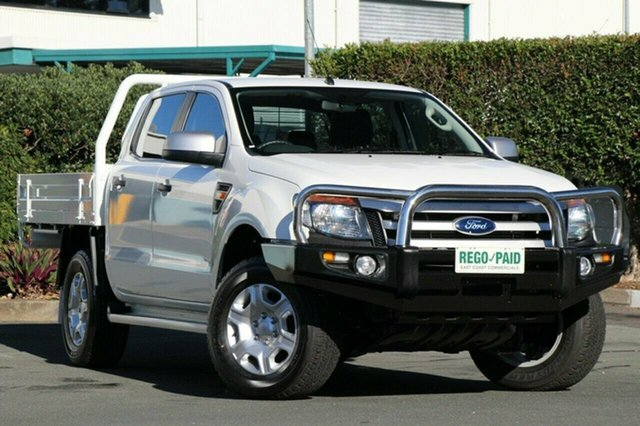 Discounted Used Ford Ranger XLS Double Cab, Acacia Ridge, 2014 Ford Ranger XLS Double Cab PX Utility