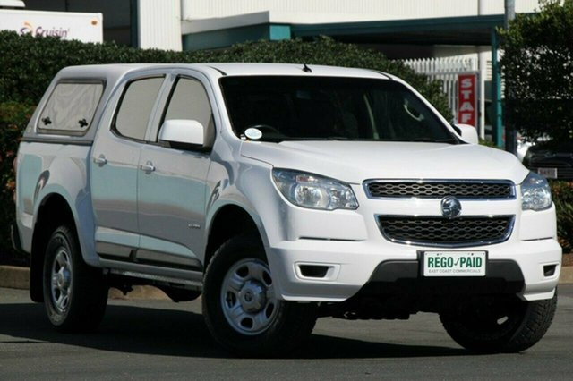 Discounted Used Holden Colorado LX Crew Cab, Acacia Ridge, 2014 Holden Colorado LX Crew Cab RG MY14 Utility