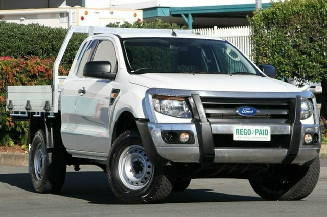 Discounted Used Ford Ranger XL Super Cab 4x2 Hi-Rider, Acacia Ridge, 2013 Ford Ranger XL Super Cab 4x2 Hi-Rider PX Cab Chassis