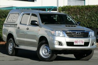 Discounted Used Toyota Hilux SR Double Cab, Acacia Ridge, 2013 Toyota Hilux SR Double Cab KUN26R MY14 Utility