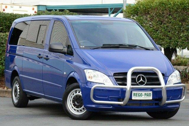Discounted Used Mercedes-Benz Vito 113CDI Crew Cab, Acacia Ridge, 2012 Mercedes-Benz Vito 113CDI Crew Cab 639 MY11 Van