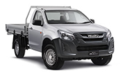 New Isuzu D-MAX 4x4 EX Single Cab Chassis, Blue Ribbon Motors, Yamanto