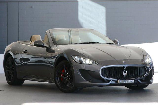 Used Maserati GranCabrio Sport MC-Shift, Artarmon, 2016 Maserati GranCabrio Sport MC-Shift Cabriolet
