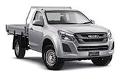 New Isuzu D-MAX 4x4 SX Single Cab Chassis, Blue Ribbon Motors, Yamanto