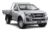 New Isuzu D-MAX 4x4 SX Single Cab Chassis, Westpoint Isuzu UTE, Indooroopilly