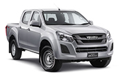 New Isuzu D-MAX 4x4 SX Space Cab Chassis, Blue Ribbon Motors, Yamanto