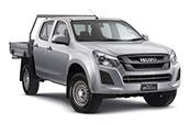 New Isuzu D-MAX 4x2 SX Crew Cab Chassis, Blue Ribbon Motors, Yamanto