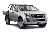 New Isuzu D-MAX 4x4 SX Crew Cab Chassis, Blue Ribbon Motors, Yamanto